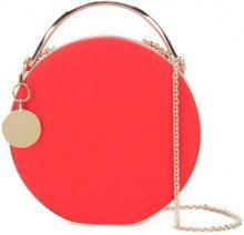 Eddie Borgo - Clutch con catena - women - Leather/metal - OS - RED