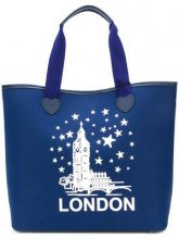 Twin-Set - London tote bag - women - Polyurethane - One Size - BLUE