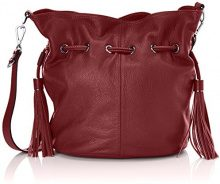 Kesslord Zelda Nc, Borsa A Tracolla Donna, Rosso (Cassis), One Size