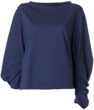 Société Anonyme - Top con maniche a palloncino - women - Cotton - OS - BLUE
