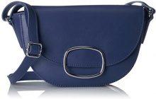 edc by Esprit 038ca1o001 - Borse a tracolla Donna, Blu (Bright Blue), 7x15x23 cm (B x H T)