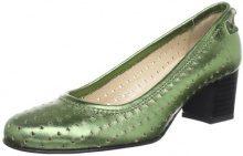 Diavolezza SARA 6065, Scarpe col tacco donna, Verde (Grün (Green)), 40