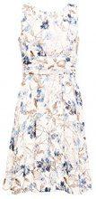 ESPRIT Collection 038eo1e024, Vestito Elegante Donna, Bianco (Off White 110), 44 (Taglia Produttore: 38)