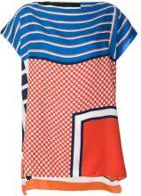Pierre-Louis Mascia - Blusa stampata - women - Silk - One Size - MULTICOLOUR