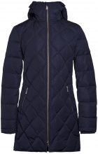 J.LINDEBERG Radiator Dressed Poly Parka Coat Women Blue