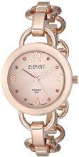August Steiner da donna, in oro bicolore rosa-Orologio da donna con braccialetto
