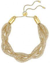Swarovski FASHIONNECKLACEBRACELETANKLET - Gioiello da polso, con Cristallo, placcato oro