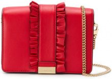 Michael Michael Kors - Jade clutch bag - women - Leather - OS - Rosso