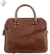 Borsette Dream Leather Bags Made In Italy  Borsa Donna A Mano Con Scomparti E Tracolla Rimovibile Colore Ma