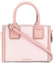 Karl Lagerfeld - Karl Klassik mini tote - women - Leather - One Size - PINK & PURPLE