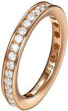 Joop! Donna-anello da donna 925 argento con zirconi bianchi taglio rotondo misura 55 (17,5) - JPRG90788C190