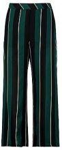 Plus Tamsin Woven Stripe Wide Leg Trouser