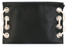 Marni - Satellite clutch bag - women - Calf Leather - OS - BLACK
