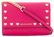 Michael Michael Kors - Borsa a tracolla - women - Leather - OS - PINK & PURPLE