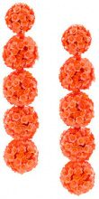Sachin & Babi - Fleur bouquet earrings - women - Sintetico: Silicone - OS - Giallo & arancio