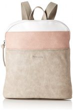 Tamaris Khema Backpack - Borse a zainetto Donna, Grau (Light Grey Comb), 8.5x31x27 cm (B x H T)