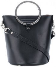Rebecca Minkoff - Ring Feed small bag - women - Leather - One Size - BLACK