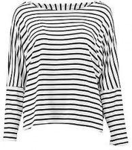 Alexia T-shirt extra larga a righe