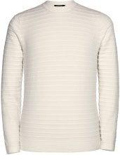 J.LINDEBERG Jude Structure Stripe Pullover Men White