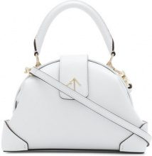 Manu Atelier - Demi small tote bag - women - Calf Leather - OS - WHITE