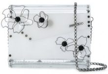 Jimmy Choo - Candy clutch - women - Acrylic/PVC - OS - WHITE