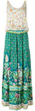 Black Coral - Tuta a fiori svasata - women - Viscose - One Size - MULTICOLOUR