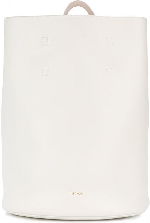 8f8c5618fa Jil Sander - Borsa Tote - women - pelle - Taglia Unica - di colore bianco. Borsa  Tote