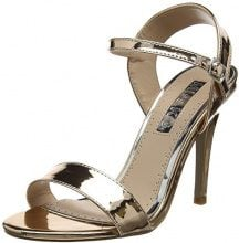 Miss KGImogen - Peep Toe Donna, Oro (Gold (Metal Comb)), 38