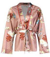 Poppy Premium Belted Kimono