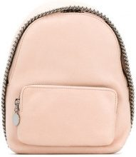 Stella McCartney - Mini zaino 'Falabella' - women - Polyurethane - One Size - PINK & PURPLE
