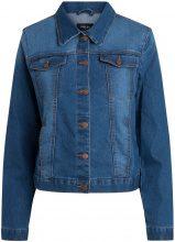 PIECES Regular Denim Jacket Women Blue