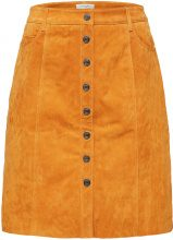 SELECTED Suede - Skirt Women Yellow