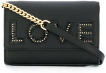 Michael Michael Kors - Borsa a tracolla 'Love' - women - Leather - One Size - BLACK
