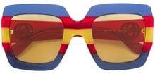 Gucci Eyewear - occhiali da sole - women - Acetate - 44 - BLUE