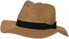 ONLY Straw Hat Women Black