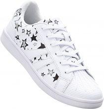 Sneaker a stelle (Bianco) - RAINBOW