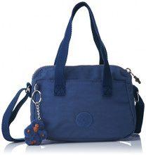 Kipling Leike, Borsa a spalla Donna, Blu (Jazzy Blue), 9.5x19.5x14 cm (B x H x T)