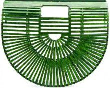 Cult Gaia - Borsa Ark - women - Acrylic - One Size - GREEN