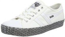 Gola Coaster Metric, Sneaker Donna, Bianco (White), 38 EU