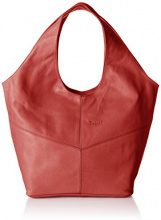 Think!Think! Bag - Borsa a spalla Donna , rosso (Rot (CHILLI 75)), 17x33x43 cm (B x H x T)