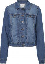 VERO MODA Casual Denim Jacket Women Blue