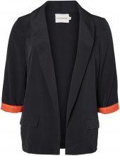JUNAROSE 3/4 Sleeved Blazer Women Black