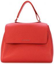 Orciani - Borsa strutturata - women - Leather - OS - RED