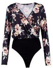 Adalyn Floral Print Plunge Bodysuit