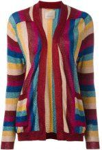 Laneus - striped knit cardigan - women - Polyamide/Polyester/Viscose - 40 - MULTICOLOUR