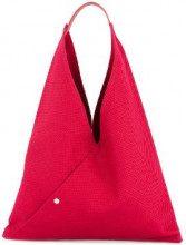 Cabas - medium triangle tote - women - Cotton - OS - RED