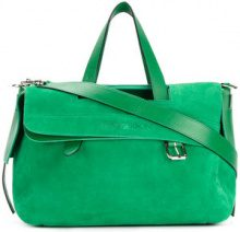 JW Anderson - slouchy tote - women - Calf Leather - One Size - GREEN