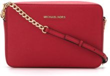 Michael Michael Kors - Jet Set large crossbody bag - women - Leather - OS - Rosso