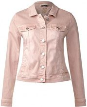 Street One 210677, Giacca in Jeans Donna, Rosa (Authentic Pale Rose 11323), 48