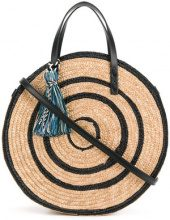 Rebecca Minkoff - Borsa tote 'Circle' - women - Hemp - One Size - BLACK